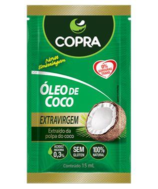 Óleo de Coco Extra Virgem Copra sachê 15ml