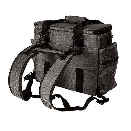 Mochila Bag de Vinil 4DJ transporte Disco Fone Notebook