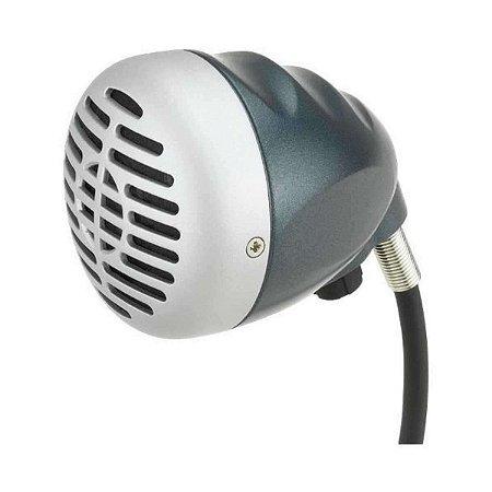 Microfone Superlux Para Gaita De Boca D112c Leve E Dinâmico