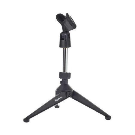 Pedestal De Mesa Para Microfone Superlux Hm6 Tripe De Bumbo
