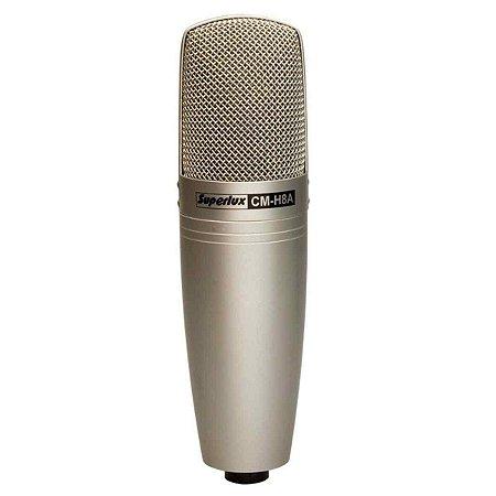Microfone Vocal Broadcast Gravação Superlux Cmh8a