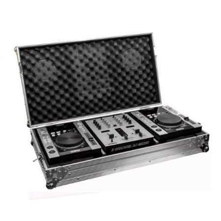 Par Cdj Mixer Pen Drive Cd Sd Case Profissional 931d