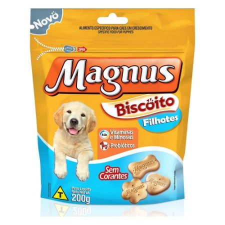 Magnus Biscoito Filhotes 200g