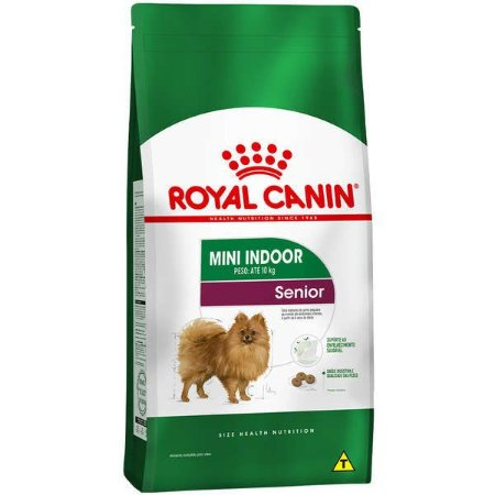 Royal Canin Mini Indoor Adultos - Sênior 8+ 1kg