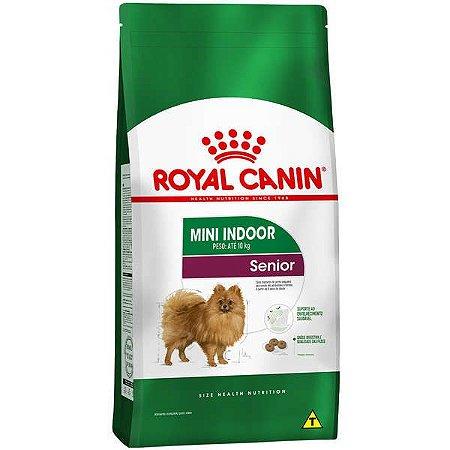 Royal Canin Mini Indoor Adultos - Sênior 8+ 7,5kg