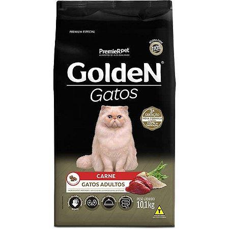 Golden Fórmula Gatos Adultos - Carne 10,1kg