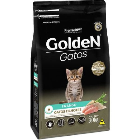Golden Fórmula Gato Filhote Frango 3kg
