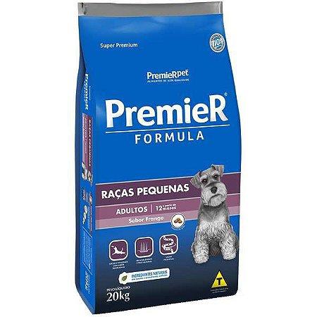 Premier Fórmula Adultos - Raças Pequenas 20kg