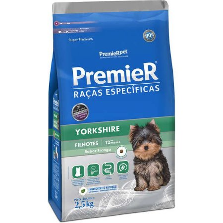 Premier Yorkshire Filhote 2,5kg