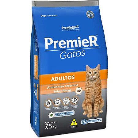 Premier Gatos Adultos - Frango 7,5kg
