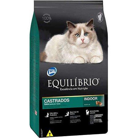 Equilíbrio Gatos Castrados Mature 1,5kg