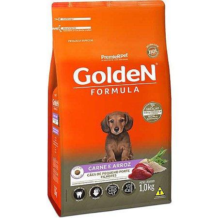 Golden Fórmula Filhote Carne Mini B 1kg