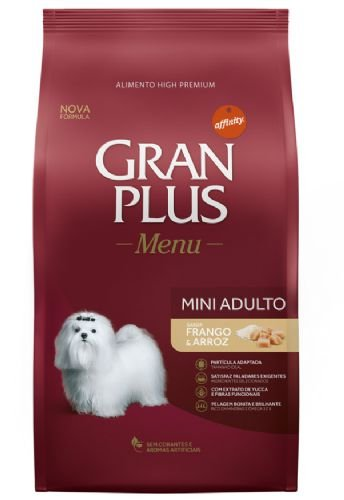 Gran Plus Cães Adultos - Menu Mini Frango 15kg