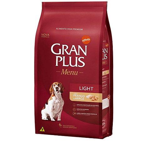Gran Plus Cães Light 15kg