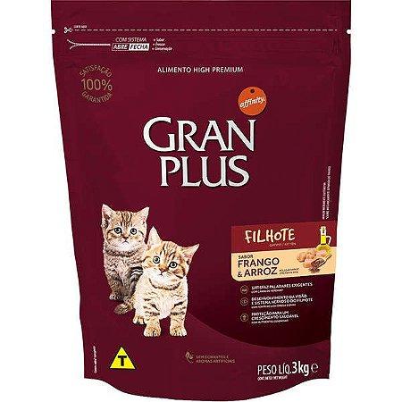 Gran Plus Gatos Filhotes 3kg