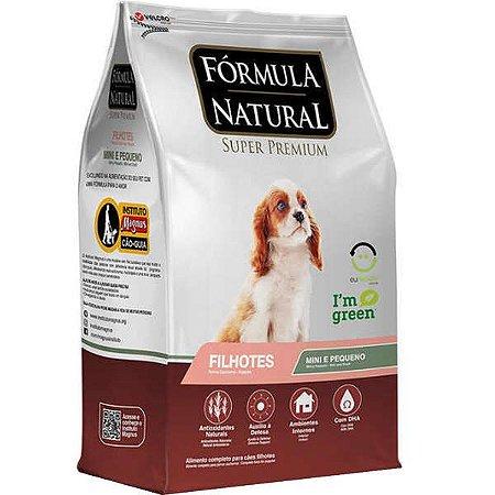 Fórmula Natural Filhotes Mini/Pequenos 7kg