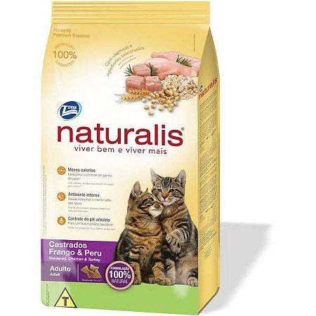 Naturalis Gatos Adultos - Castrado 3kg