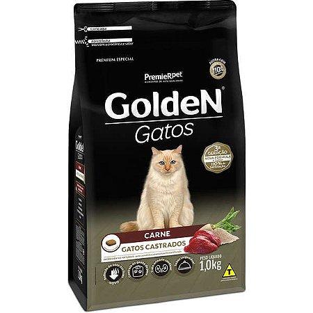 Golden Fórmula Gato - Castrado - Carne 1kg