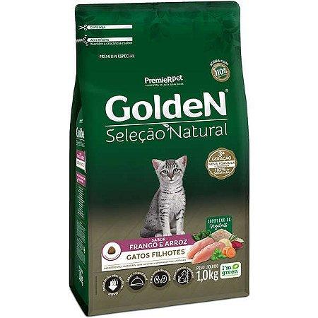 Golden Seleção Natural Gato Filhote Frango/Arroz 1kg