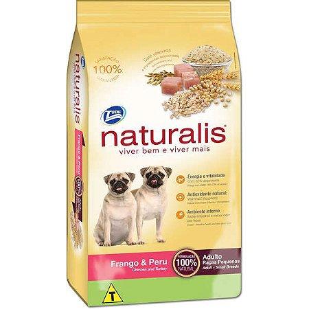 Naturalis Adultos - Raças Pequenas  Frango/Per 15kg