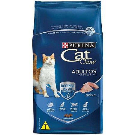 Cat Chow Adultos - Peixe 1kg