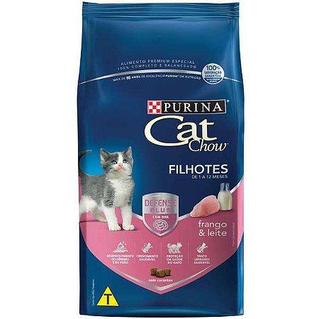 Cat Chow Filhotes Frango/Leite 10,1kg