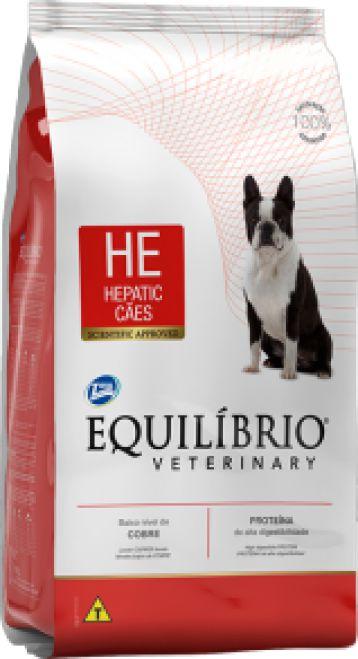 Equilíbrio Veterinary Hepatic Cães 7,5kg