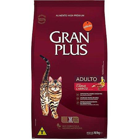 Gran Plus Gatos Adultos - Carne 10X1kg
