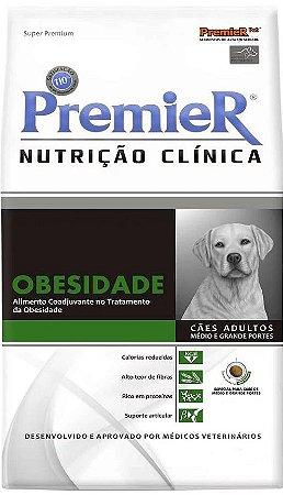 Premier Nutrição Clínica Cães Obesidade Porte Médio E Grande -  10,1kg