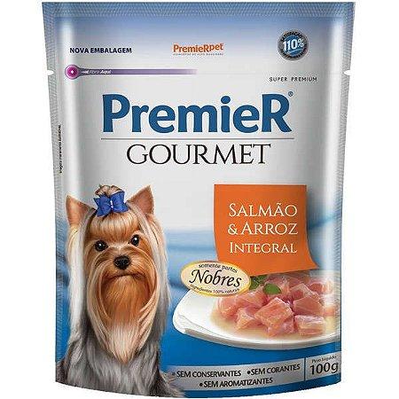 Premier Sachê Cão Gourmet Salmão/Arroz 100g