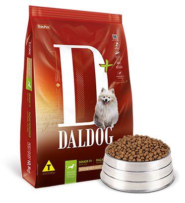 Daldog Sênior Raças Pequenas 10,1kg