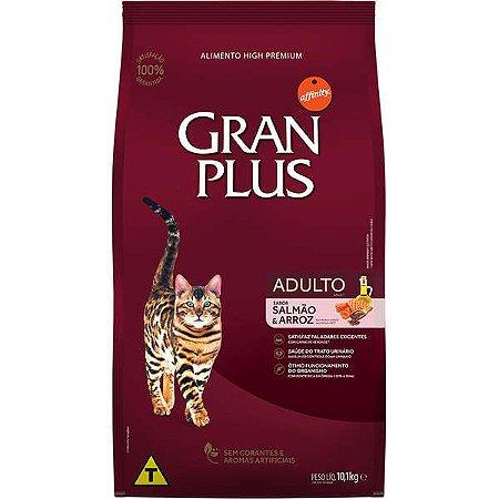 Gran Plus Gatos Adultos - Salmão 10,1kg