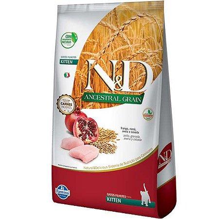 N&D Ancestral Grain Feline Kitten Frango/Romã 1,5kg
