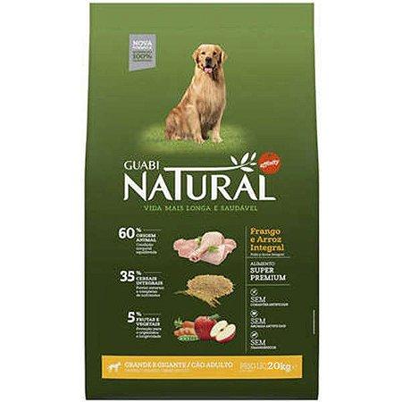 Guabi Natural Cães Adultos - Grande Frango 20kg