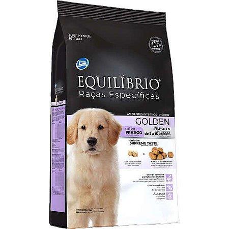 Equilíbrio Filhote Raças Específicas Golden Retri Frango 12kg