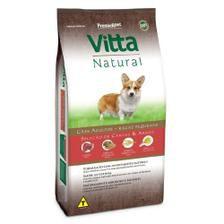 Vitta Natural Adultos - Raças Pequenas - Carne/Arroz 3 kg