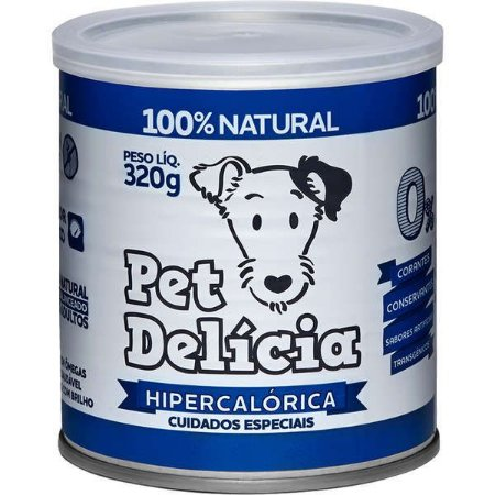 Pet Delícia Cão Hipercalorico 320g Rec