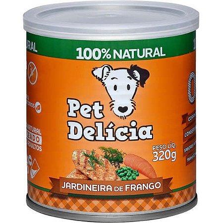 Pet Delícia Cão Jardineira Frango 320g