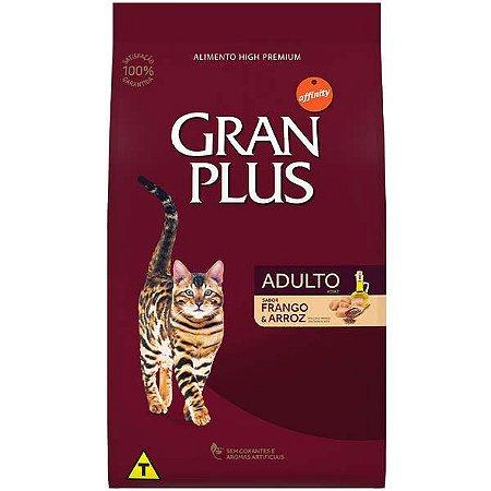 Gran Plus Gatos Adultos - Frango Arroz 10,1kg