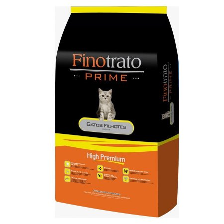 Finotrato Prime Gatos Filhotes 10,1kg