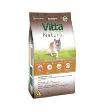 Vitta Natural Gatos Adultos - Castrado - Frango 3 kg