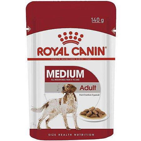Royal Canin Sachê Medium Adultos - Wet 140g