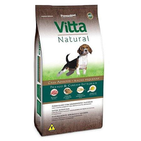 Vitta Natural Cães Adultos - Raças Pequenas - Frango/Cereais 6 kg