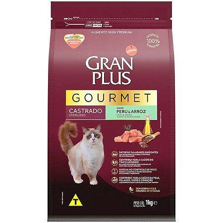 Gran Plus Gato Gourmet - Castrado - Peru 1kg