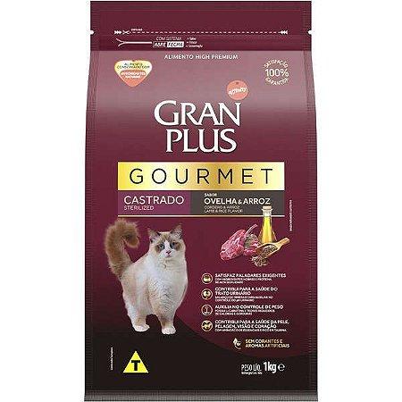 Gran Plus Gato Gourmet - Castrado - Ovelha 1kg