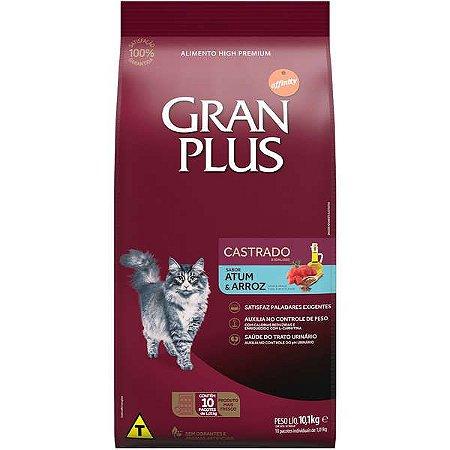 Gran Plus Gato - Castrado - Atum Arroz 10X1 10,1kg