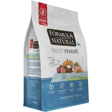 Fórmula Natural Fresh Meat Light Mini/Pequenos 7kg