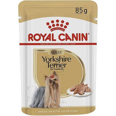 Royal Canin Sachê Yorkshire Adultos - Wet 85