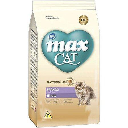 Max Cat Prof Line Filhote Frango 1kg