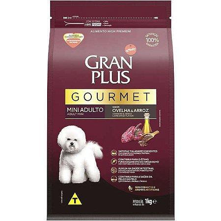 Gran Plus Cães Adultos - Gourmet Mini Ovelha 1kg